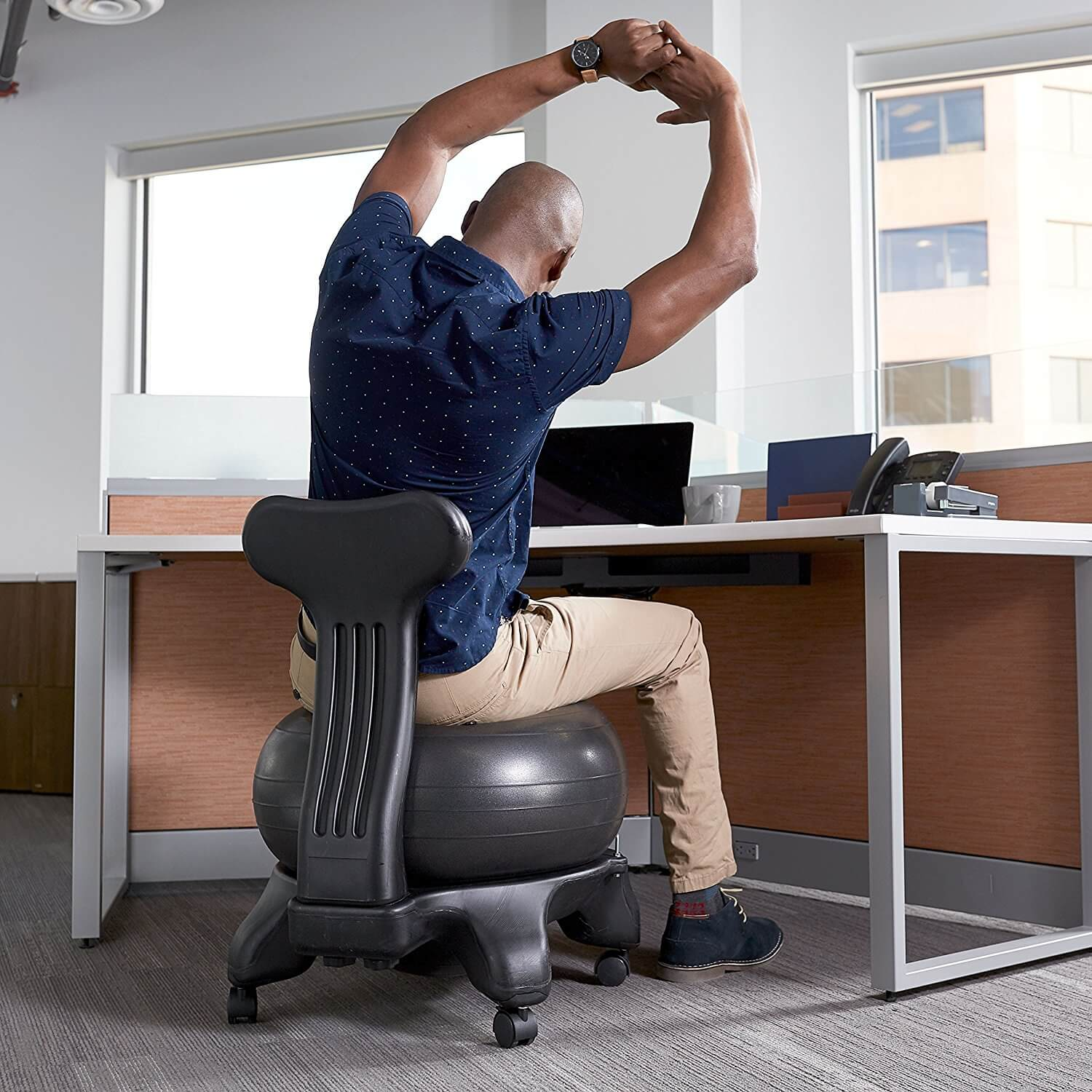 Are ball chairs good for your back?